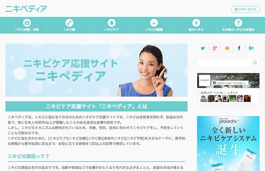 ニキペディアのWebサイト